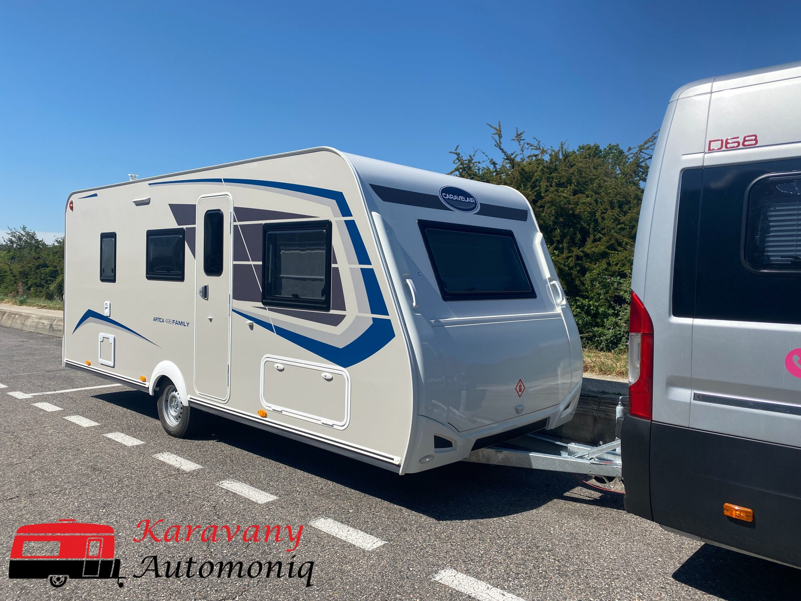 CARAVELAIR ARCTICA 496 6OS 1500KG LIMITED EDITION Image