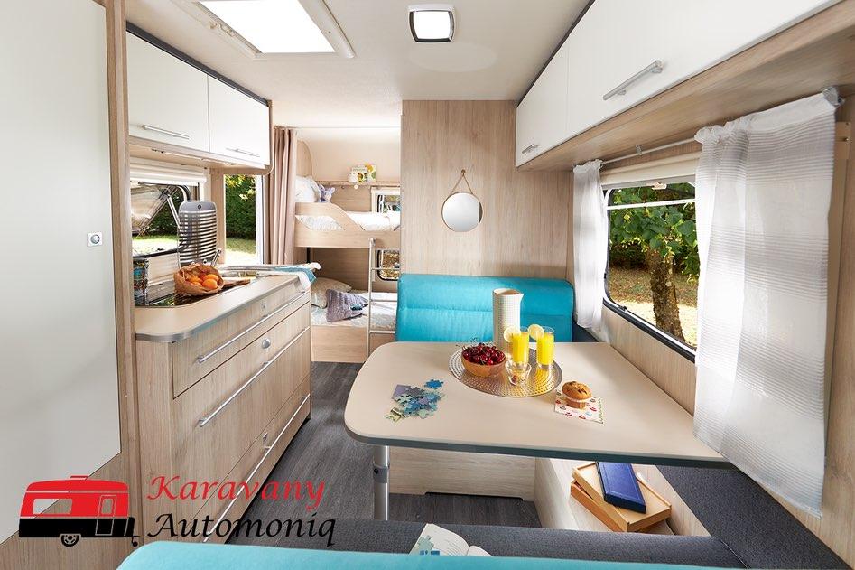 Caravelair ALBA 486 Family- veľmi útulný karavaník pre 6 osôb- len na objednávku Image