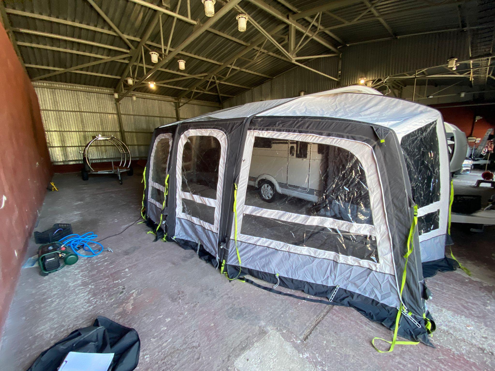 Predstan na karavany- Kampa Air Frontier Pro 400 Image