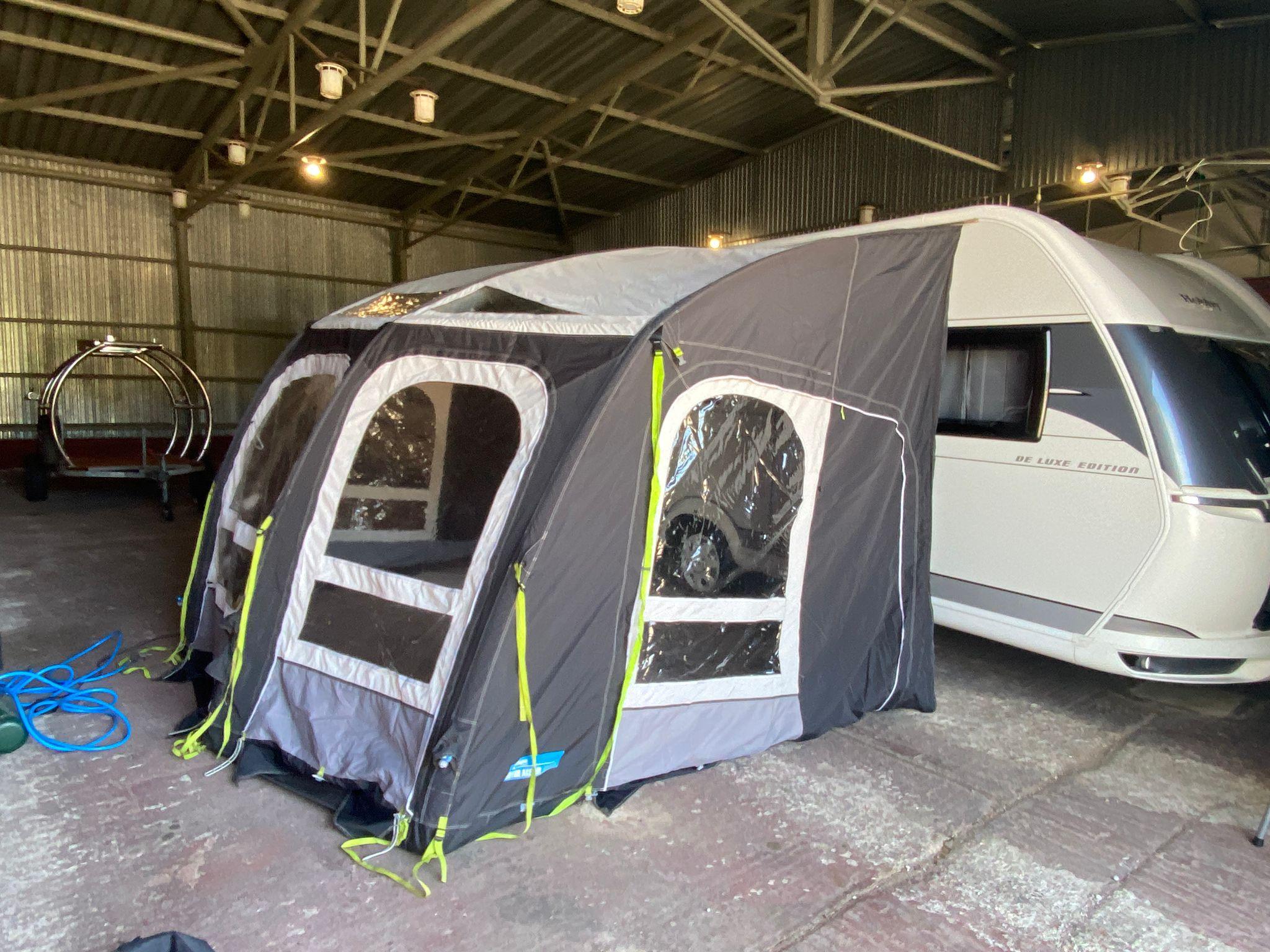 Predstan na karavany- Kampa Ace Air 400 XXl -vhodné aj na obytné autá Image
