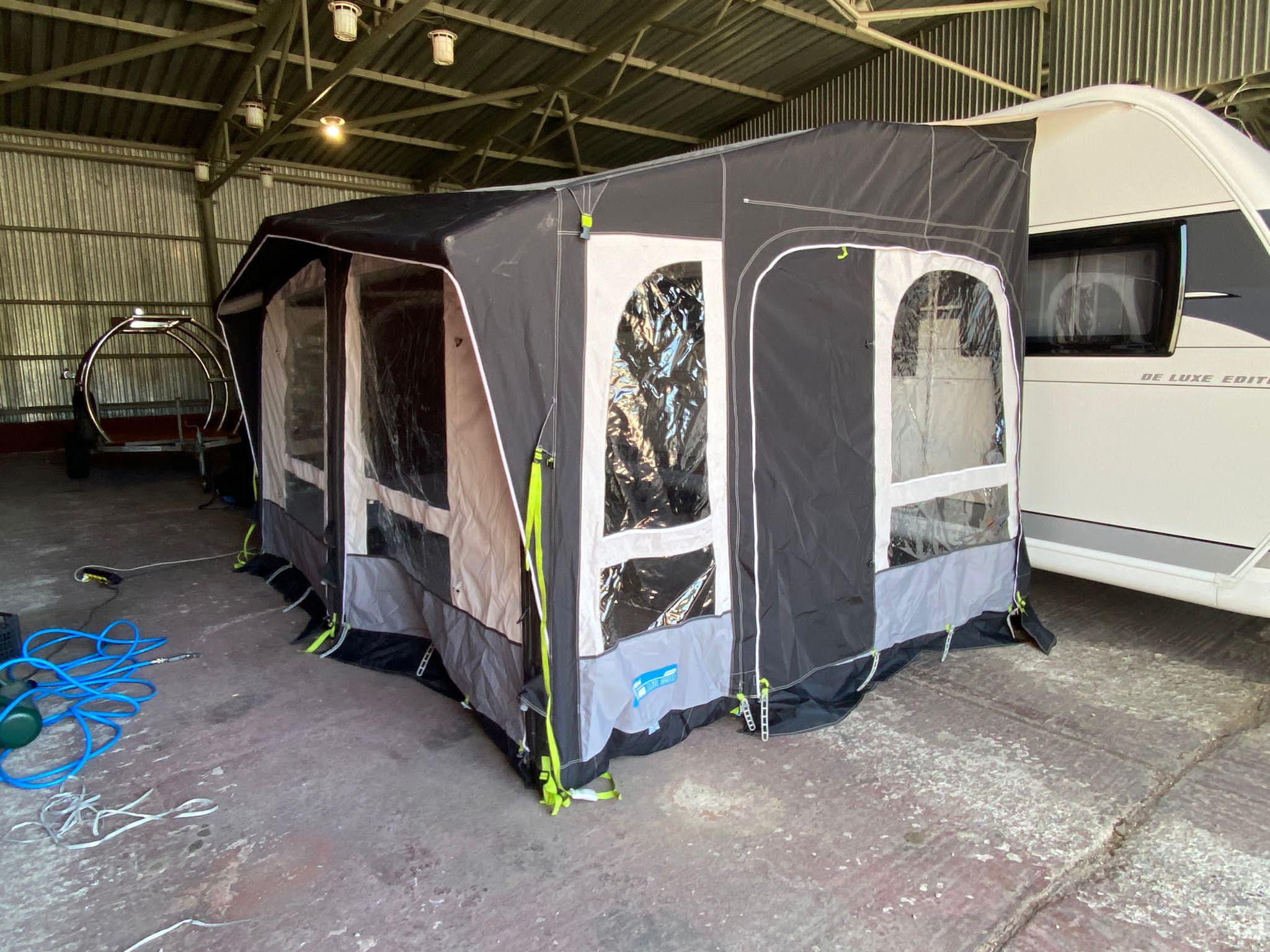 Predstan na karavany- Kampa Club Air 390 Pro Image